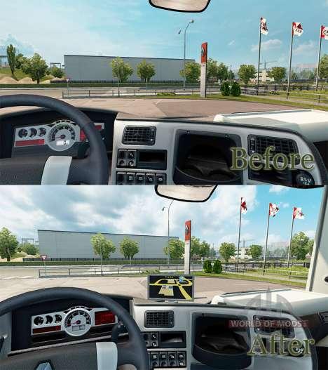 GPS-Navigator für Renault für Euro Truck Simulator 2