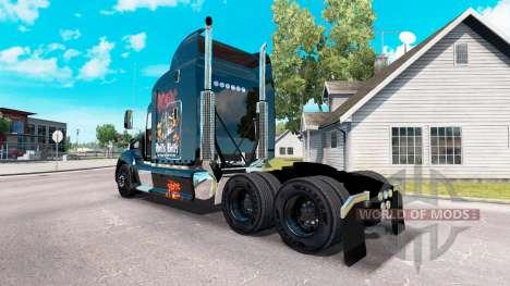 La peau AC-DC tracteur Peterbilt 386 pour American Truck Simulator