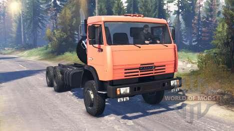KamAZ-65111 v2.0 pour Spin Tires