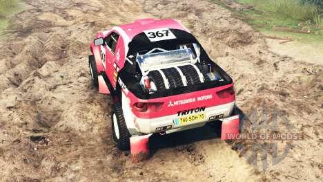Mitsubishi L200 Triton v2.0 für Spin Tires