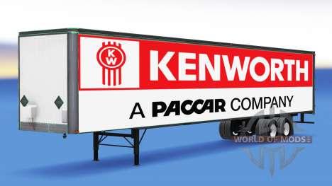 Tous métal-semi-remorque Kenworth pour American Truck Simulator