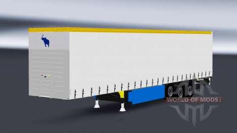 Vorhang Auflieger-Schmitz Cargobull für Euro Truck Simulator 2