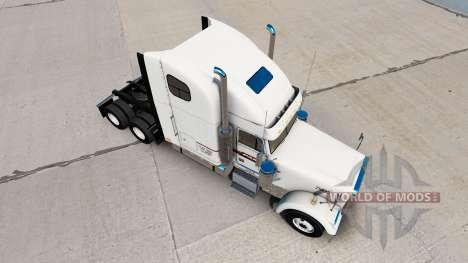 La peau sur les PAM Transport camion Freightline pour American Truck Simulator