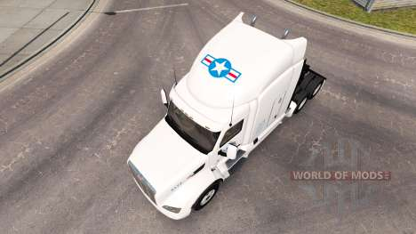USA Truck skin für den truck Peterbilt für American Truck Simulator