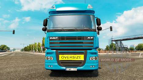 Oversize Load Sign pour Euro Truck Simulator 2