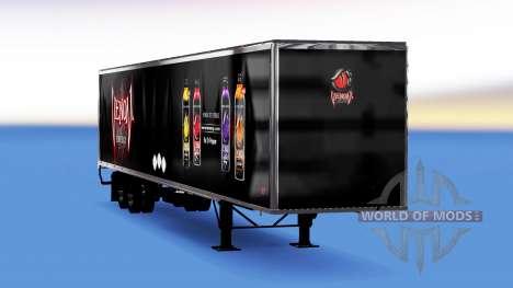 All-Metall-semi-trailer Venom Energie für American Truck Simulator