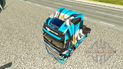 L'Argentine Copa 2014 de la peau pour Volvo cami pour Euro Truck Simulator 2