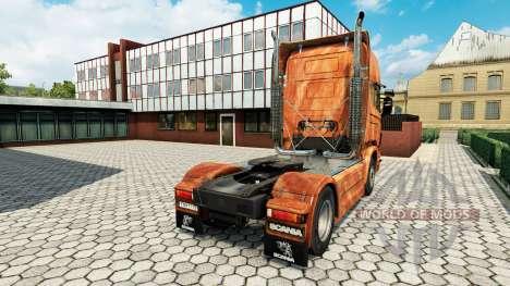 Ferrugem kommen aus skin für Scania-LKW für Euro Truck Simulator 2