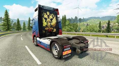 Russland Haut für Volvo-LKW für Euro Truck Simulator 2
