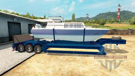 Faible image de chalut bateau pour Euro Truck Simulator 2