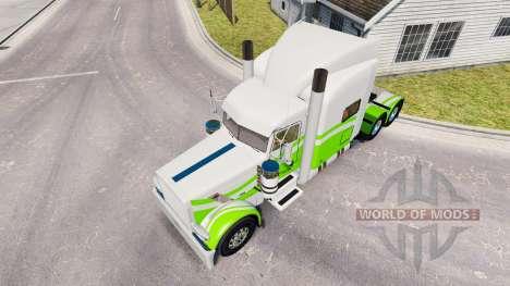 7 skin Personnalisé pour le camion Peterbilt 389 pour American Truck Simulator