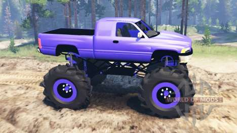 Dodge Ram 2500 pour Spin Tires