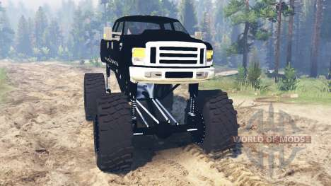 Ford F-350 [black rock] für Spin Tires