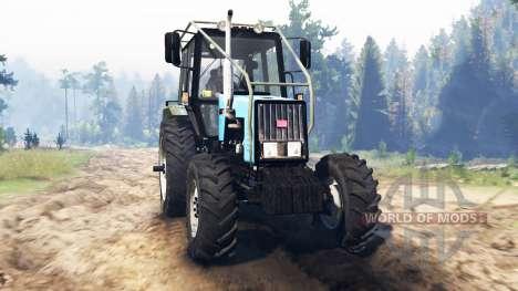 MTZ-1221.2 Biélorussie v2.0 pour Spin Tires