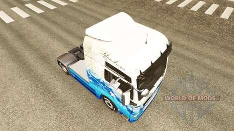 Haut Klanatrans für Traktor MAN für Euro Truck Simulator 2