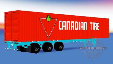 Une collection de remorques états-unis pour American Truck Simulator