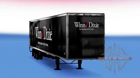 De tous les métaux semi-Winn Dixie pour American Truck Simulator