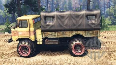GAZ-66 v2.0 für Spin Tires