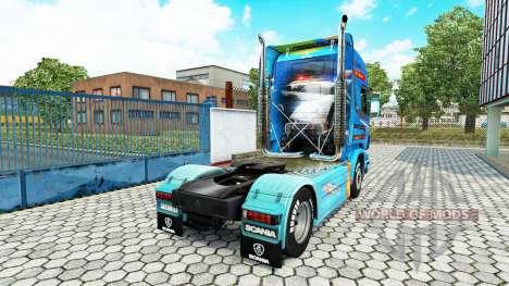 Haut-Need For Speed Hot Pursuit auf Zugmaschine  für Euro Truck Simulator 2