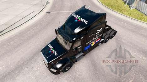 Up2Gaming de la peau pour le camion Peterbilt pour American Truck Simulator