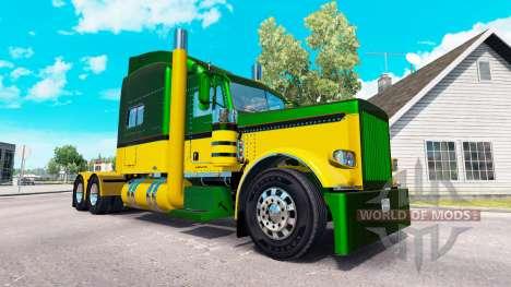 Guzman Express skin für den truck-Peterbilt 389 für American Truck Simulator