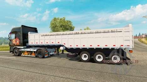 Un camion semi-remorque Noma pour Euro Truck Simulator 2