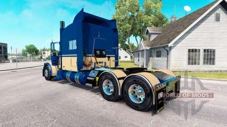6 skin Personnalisé pour le camion Peterbilt 389 pour American Truck Simulator