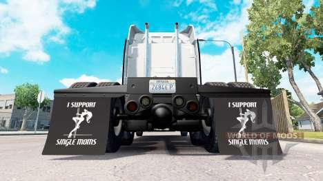 Kotflügel I Support Single Moms v1.1 für American Truck Simulator