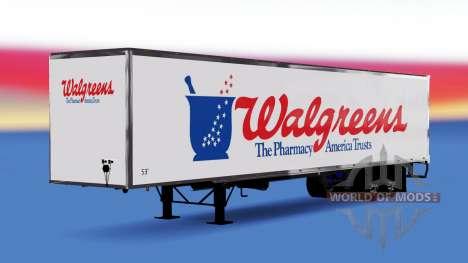De tous les métaux semi-Walgreens pour American Truck Simulator