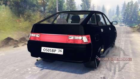 VAZ-2112 für Spin Tires