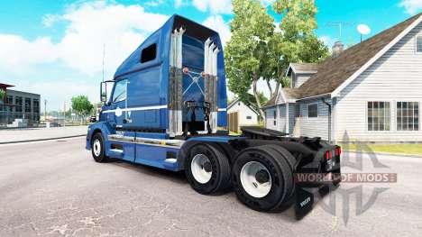 Haut auf Kanada Rollgeld Sattelzugmaschine Volvo für American Truck Simulator