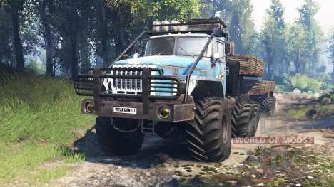 Ural-4320-10 10x10 v3.0 pour Spin Tires