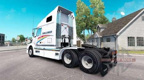 Haut auf Challenger Traktor Volvo VNL 670 für American Truck Simulator