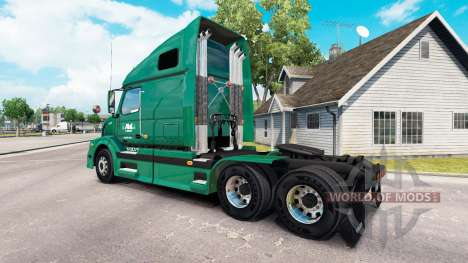 Die Haut R-L-Träger auf dem LKW Volvo VNL 670 für American Truck Simulator