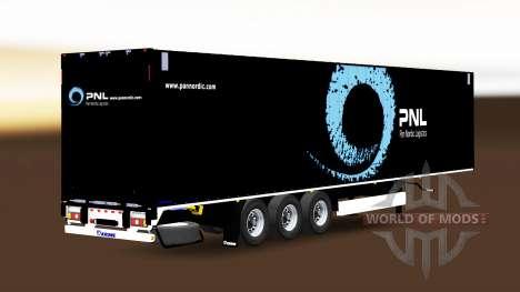 Semitrailer Krone Dryliner für Euro Truck Simulator 2