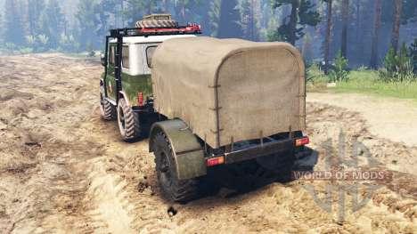 UAZ-469 [hybrid] für Spin Tires