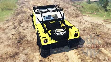 Hummer H1 6x6 Raptor v2.0 für Spin Tires