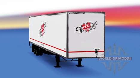 All-Metall-semi-Heartland Express für American Truck Simulator