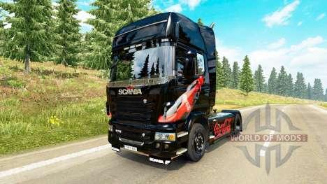 Haut Coca-Cola Zugmaschine Scania für Euro Truck Simulator 2