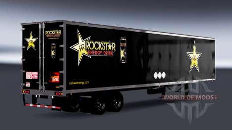 All-Metall-semi-Rockstar Energy für American Truck Simulator