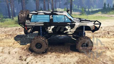 Jeep Cherokee XJ für Spin Tires