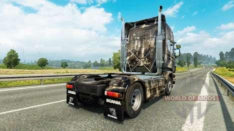 Haut Stadt an der Zugmaschine Scania für Euro Truck Simulator 2