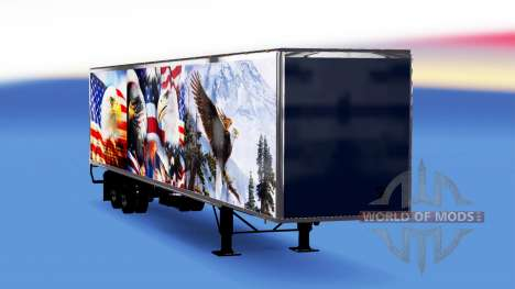 All-Metall-Sattelzug Adler für American Truck Simulator