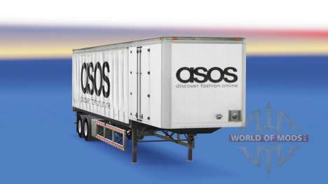 Vorhang semi-trailer Asos für American Truck Simulator