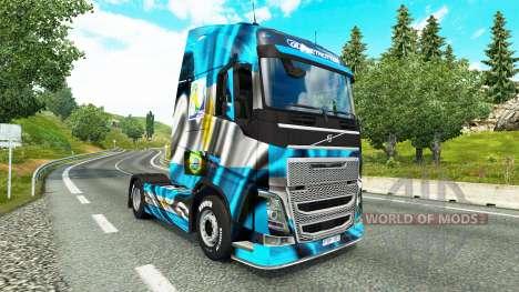 Die Argentinien-Copa 2014 skin für Volvo-LKW für Euro Truck Simulator 2