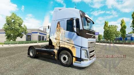 Träume skin für Volvo-LKW für Euro Truck Simulator 2