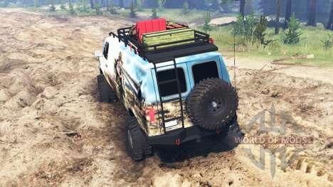 Ford E-350 [econoline safari] für Spin Tires