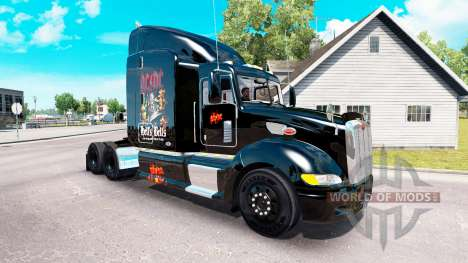 Haut-AC-DC-Zugmaschine Peterbilt 386 für American Truck Simulator