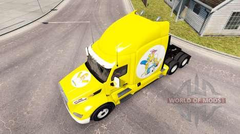 Simpsons-skin für den truck Peterbilt für American Truck Simulator