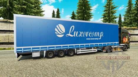 Vorhang semi-trailer Luxorcomp für Euro Truck Simulator 2